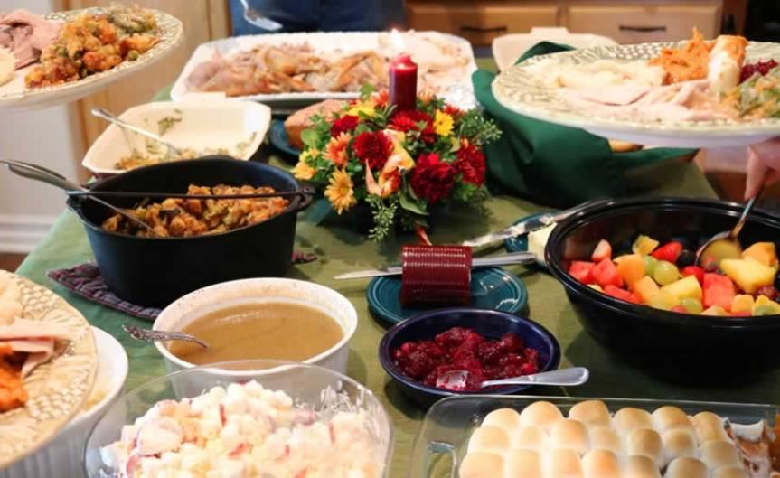Thankgiving potluck Nov. 24 after a.m.service