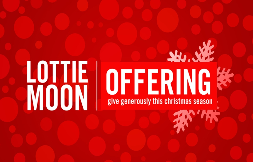 Lottie Moon Christmas offering exceeded group goals
