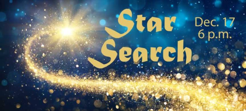 "Children to present ""Star Search,"" 6 p.m. Dec. 17"
