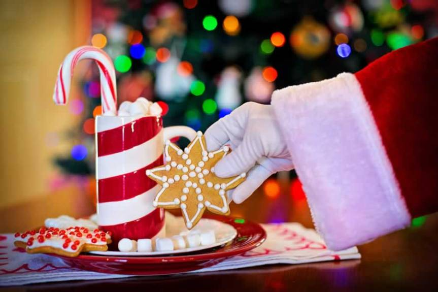 Breakfast with Santa, Children's Christmas Celebration, Dec. 8, 9-noon