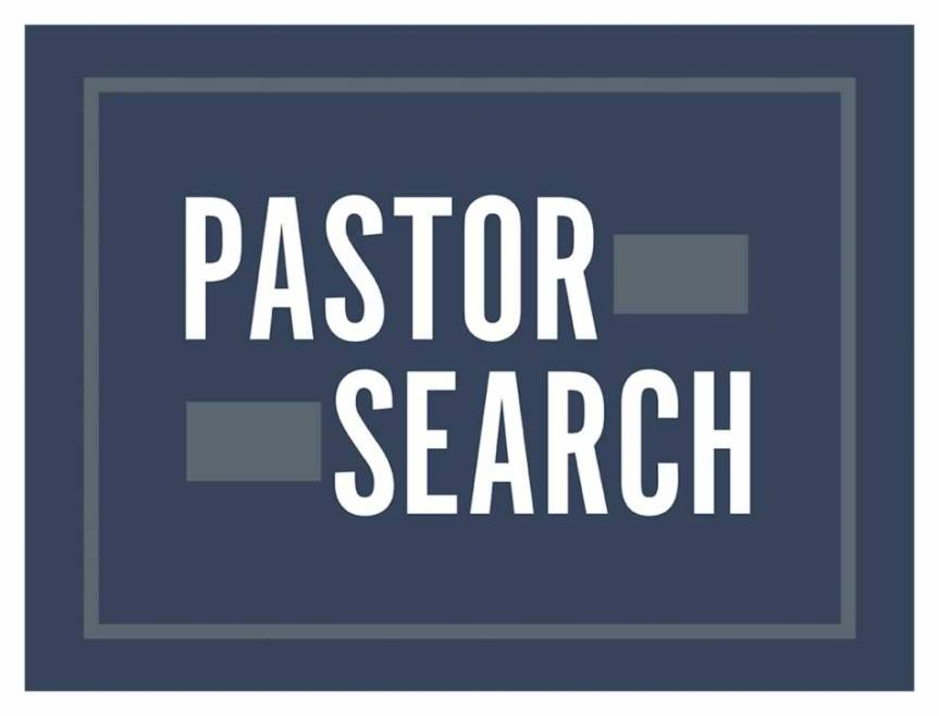 Pastor Search Committee Meets Tuesday, July 16 at 7 p.m.